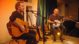 Otto Groote mit Martin Czech